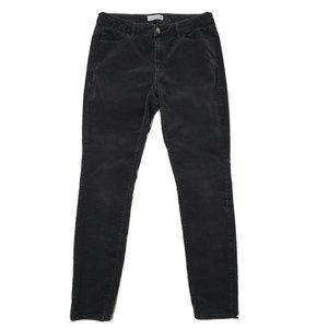 ANN TAYLOR LOFT Gray Corduroy Pants Size 6